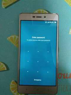 Xiaomi redmi 3s gold 16gb locked