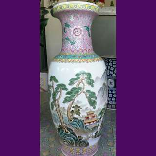 Large exquisite Chinese Porcelain Vase