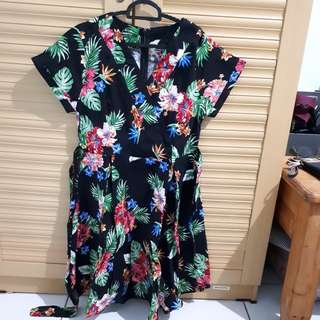 Reprice! New dress flowery