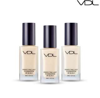 VDL Perfecting Last Foundation SPF 30, PA++ 12ml in shade M01