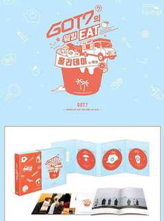 [Preorder] GOT7 DVD- Working EAT Holiday in JEJU
