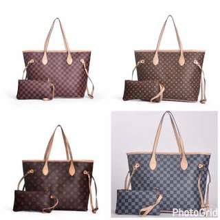 LV Class a bag with pouch