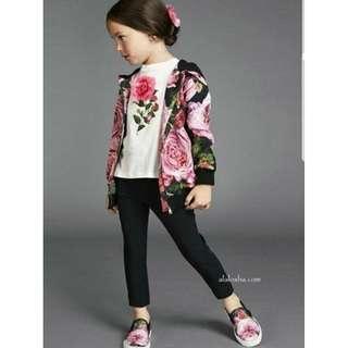 Kids Floral Jacket - COD