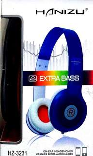 🚚 全新耳罩式耳機 HZ-3231