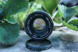 Lensa zenit 58mm f2