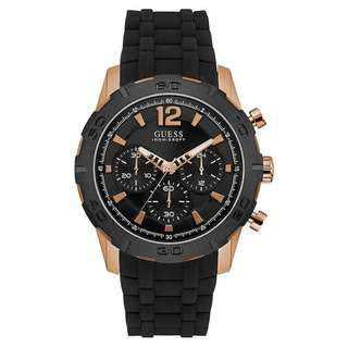 CALIBER MULTI-FUNCTION BLACK DIAL MEN'S WATCH W0864G2