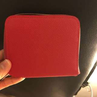 New Hermes zip wallet