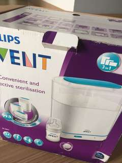 *reduced* Philips Avent 3-in-1 sterilizer