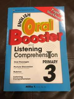 [Unused] P3 English Oral Booster & Listening Comprehension