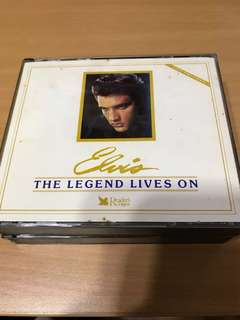 Elvis's the legend lives on - Collector's edition (5 disc album)