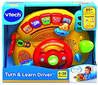 🚚 (Pre-Order)  VTech Turn and Learn Driver Twin Multicolored