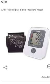 OTO Arm-type digital blood pressure monitor