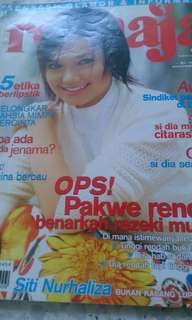Majalah nona, mingguan wanita, remaja, rasa, keluarga. (tahun 2003-2012)