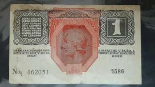 1916 Germany 1 Krone