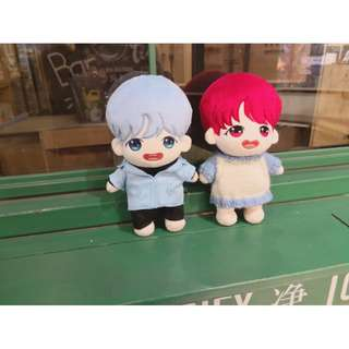 SUGA & J-HOPE - Producer Suga & Dancer Hobi 20cm doll