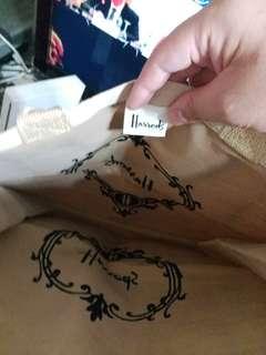 Harrods 布袋