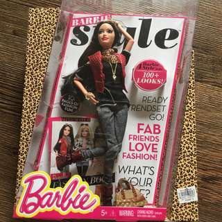 Barbie Style Fashion Book