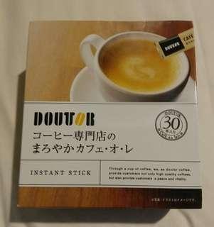 日本直送!DOUTOR 專門店即溶咖啡30包裝