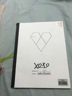 EXO XOXO Album (Korean Ver.)
