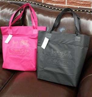 Coach tote bag (dark pink)