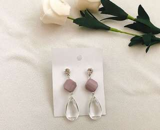 Kera drop earrings