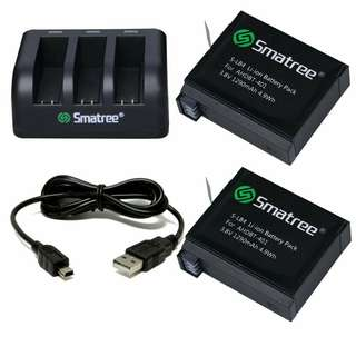 SMATREE HERO 4 BATTERY KIT