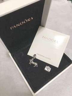 Pandora unicorn 獨角獸 suitcase 行李箱