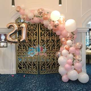 Organic Balloon Arch for Any Occasions