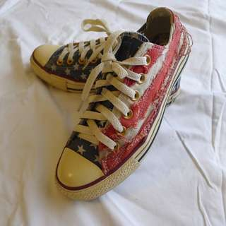 Rare- Jeremy Lin for Converse All Star Ox Sneakers