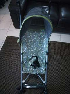 Cosco stroller with hood