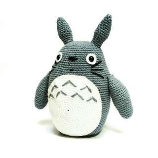 Boneka Rajut Totoro