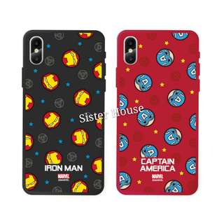 (包郵)🇰🇷Marvel Iron Man Captain America Phone Case 手機殼