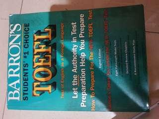 Barron's TOEFL #kanopixcarousell
