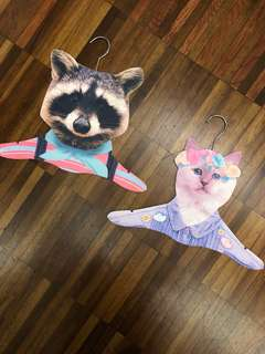 Cute Animal Clothes Hangers