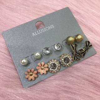 Allusions earring in sets