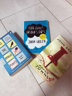 ‼️‼️ The Fault in Our Stars | Paper Towns | All The Bright Places Books