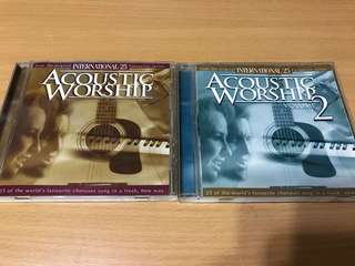 Acoustic worship (2 albums)