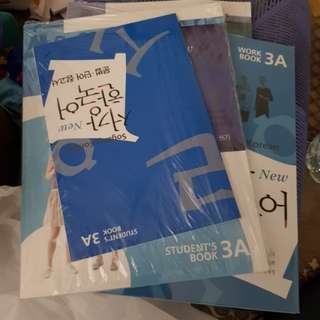 Sogang Korean Textbook Workbook 3A 3B