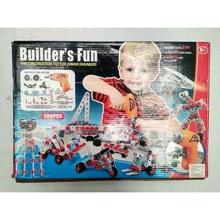 Mainan Mekanik - Builder's Fun Merk BoHui (6+ Tahun)