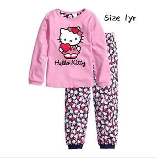 Hello Kitty girls kids Pyjamas