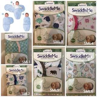 FREE MAILING 💌 Summer Swaddle Me Instant Swaddle (Large size)