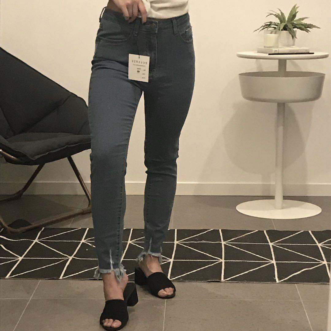 ✨ BNWT Frayed Jeans