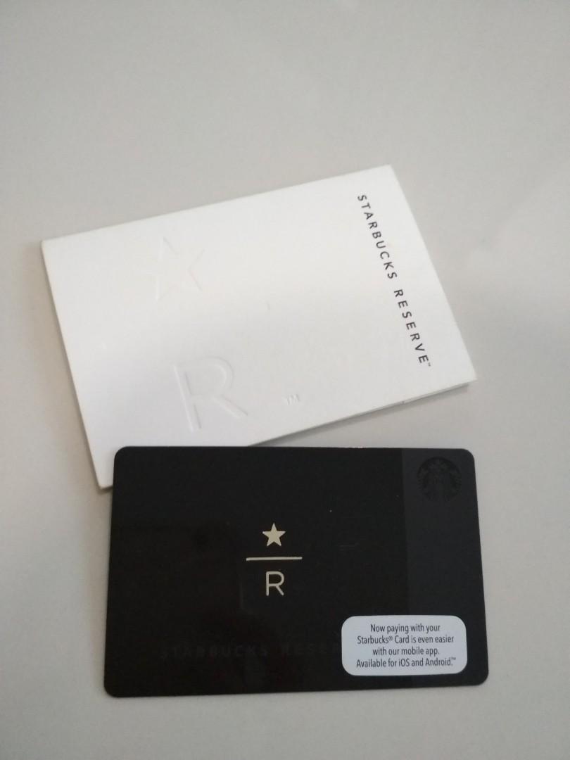 📌🆕 Starbucks Reserve Card #UNDER90