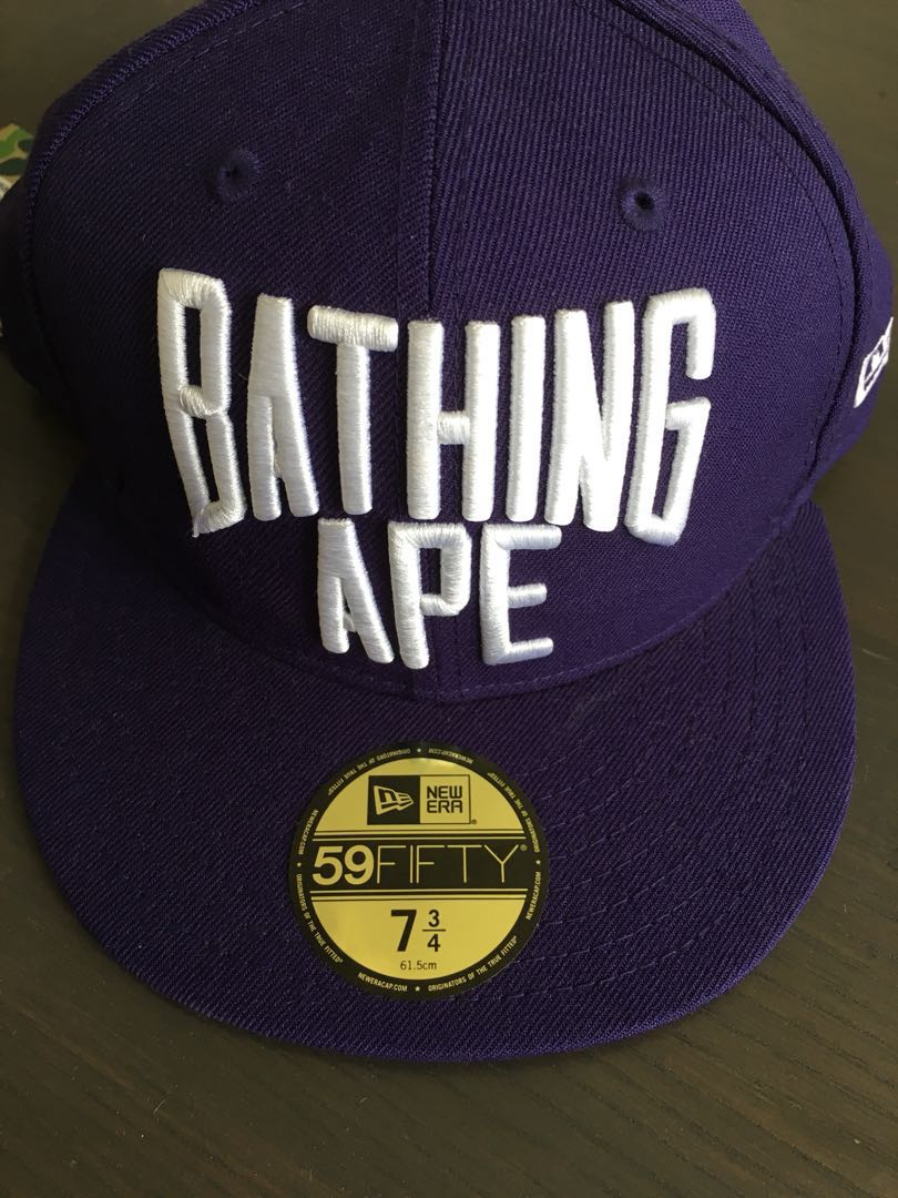 13df07a2808a A Bathing Ape x New Era Cap - 7 3 4