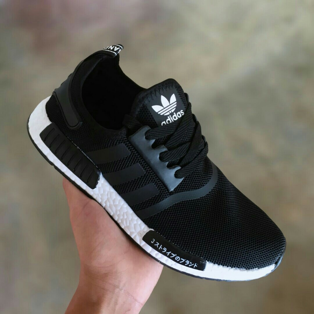 size 40 028c8 2a9eb Adidas NMD Runner PK Black White