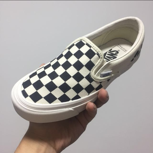 5b5b516585 ALL SIZES Vans Vault Checkerboard Slipon