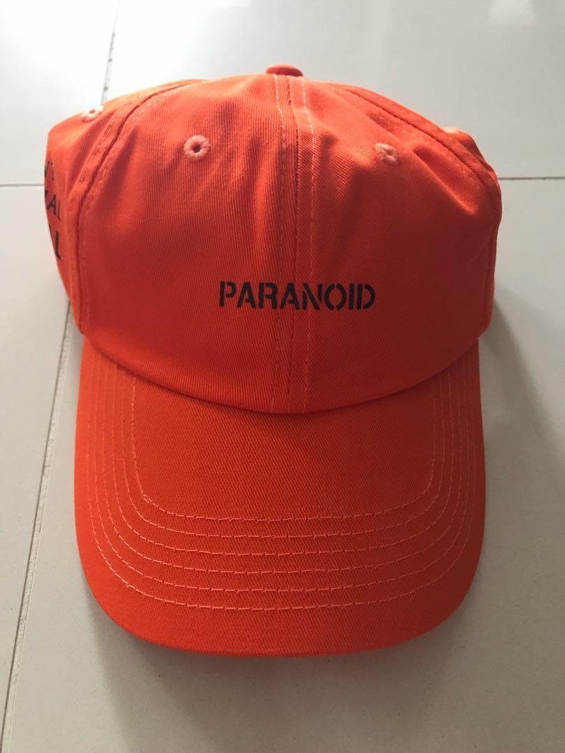 2964f7c8028 ASSC Paranoid Cap Orange