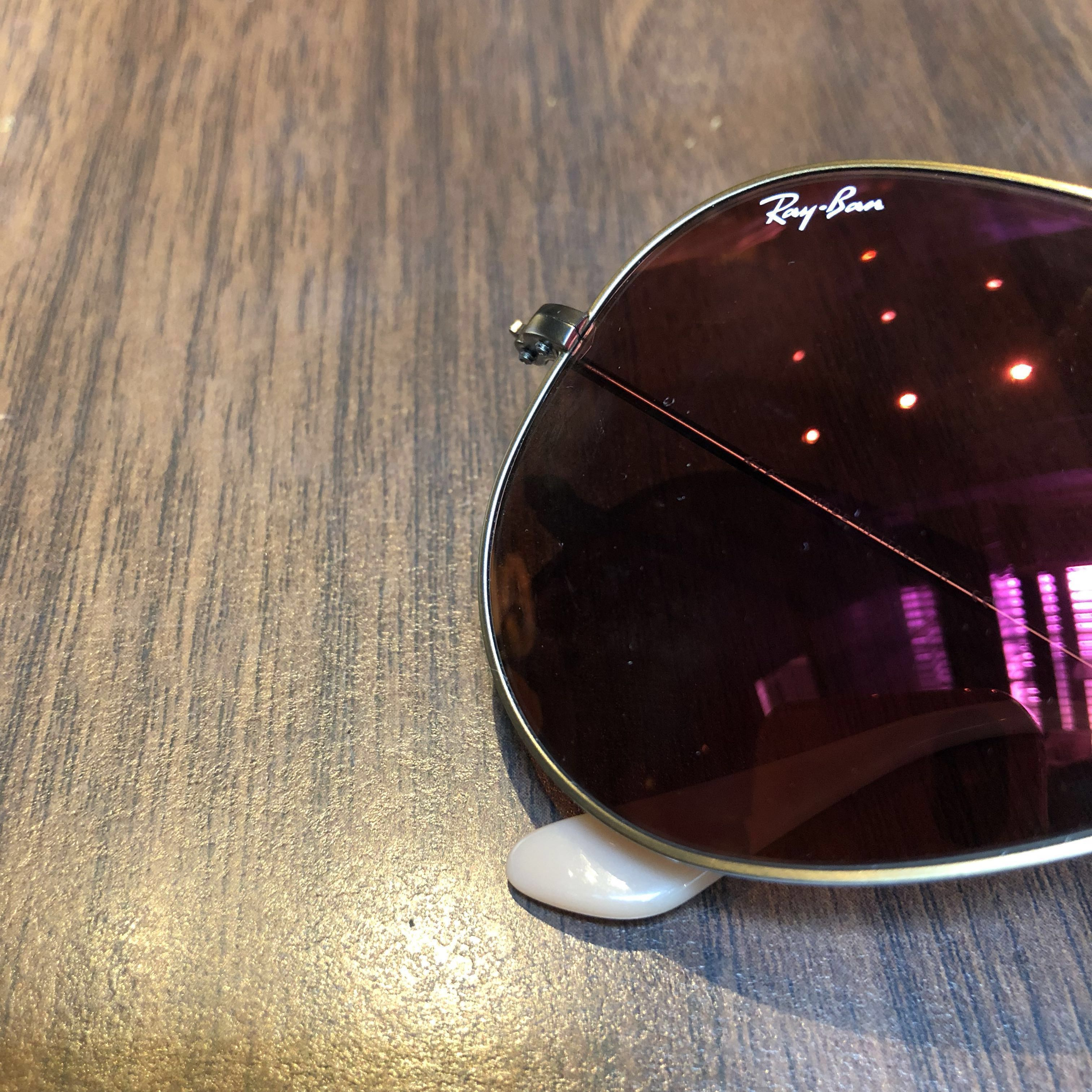 2aefc1d713a Authentic Rayban Aviator Flash Lenses Bronze Copper Red-Mirror RB3025  167 2K