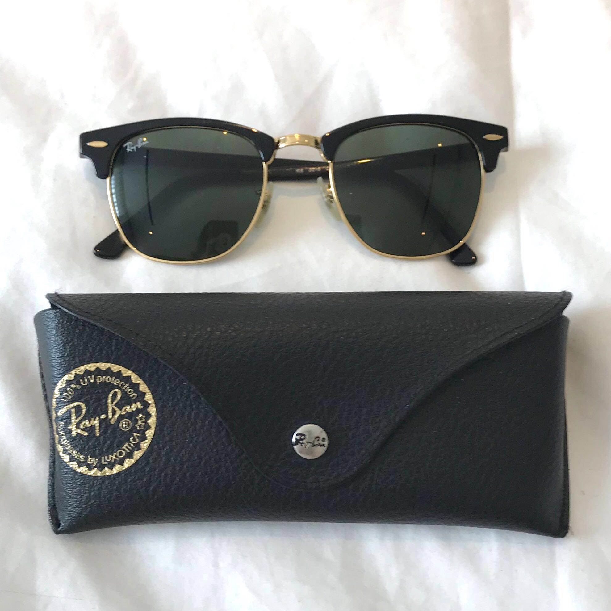 8db77866598 Authentic RAY-BAN RB3016 CLUBMASTER 49