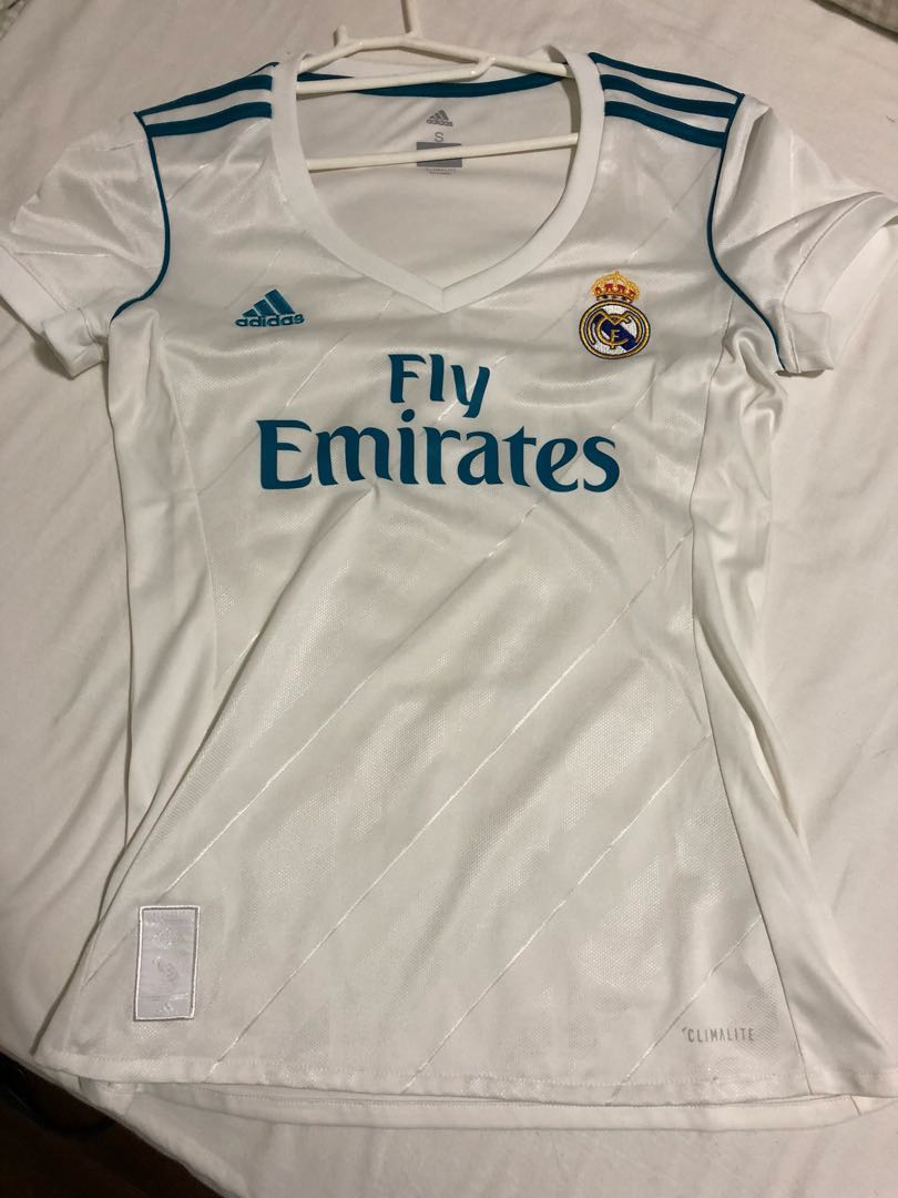 9b3a3d668 Authentic Real Madrid Jersey (ladies cutting - small size)